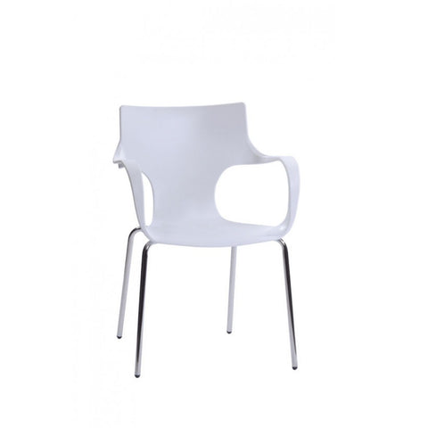 Mod Made Phin Chair In White