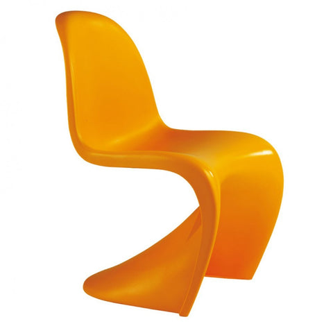 Mod Made S Shape Chair In Orange