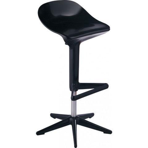 Mod Made Starfish Bar Stool In Black
