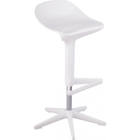 Mod Made Starfish Bar Stool In White