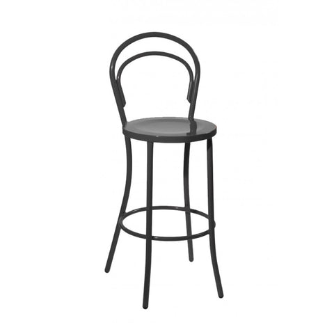 Mod Made Steam Bar Stool In Black