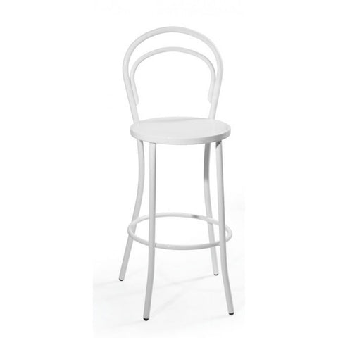 Mod Made Steam Bar Stool In White