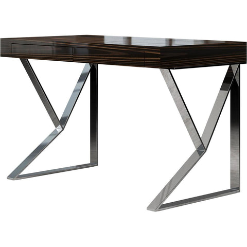 Modloft Houston Desk in Cathedral Ebony Lacquer