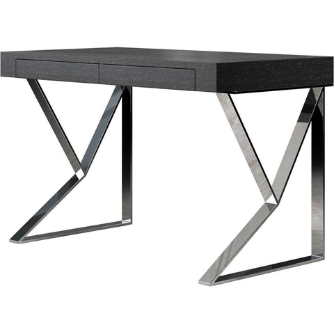 Modloft Houston Desk in Gray Oak
