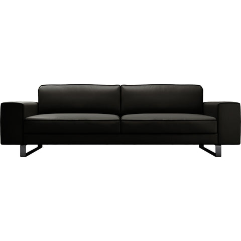 Modloft Waverly Sofa in Warm Gray w/Graphite