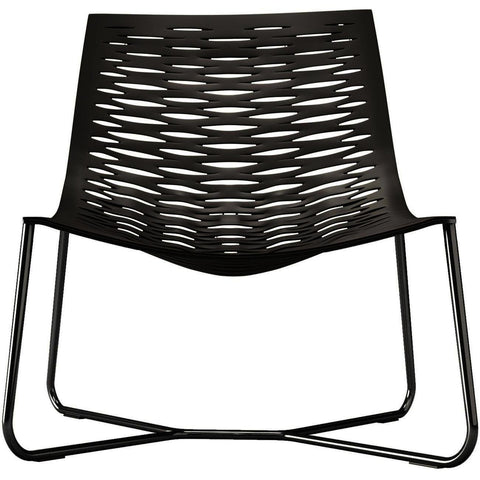 Modloft York Lounge Chair in Gray