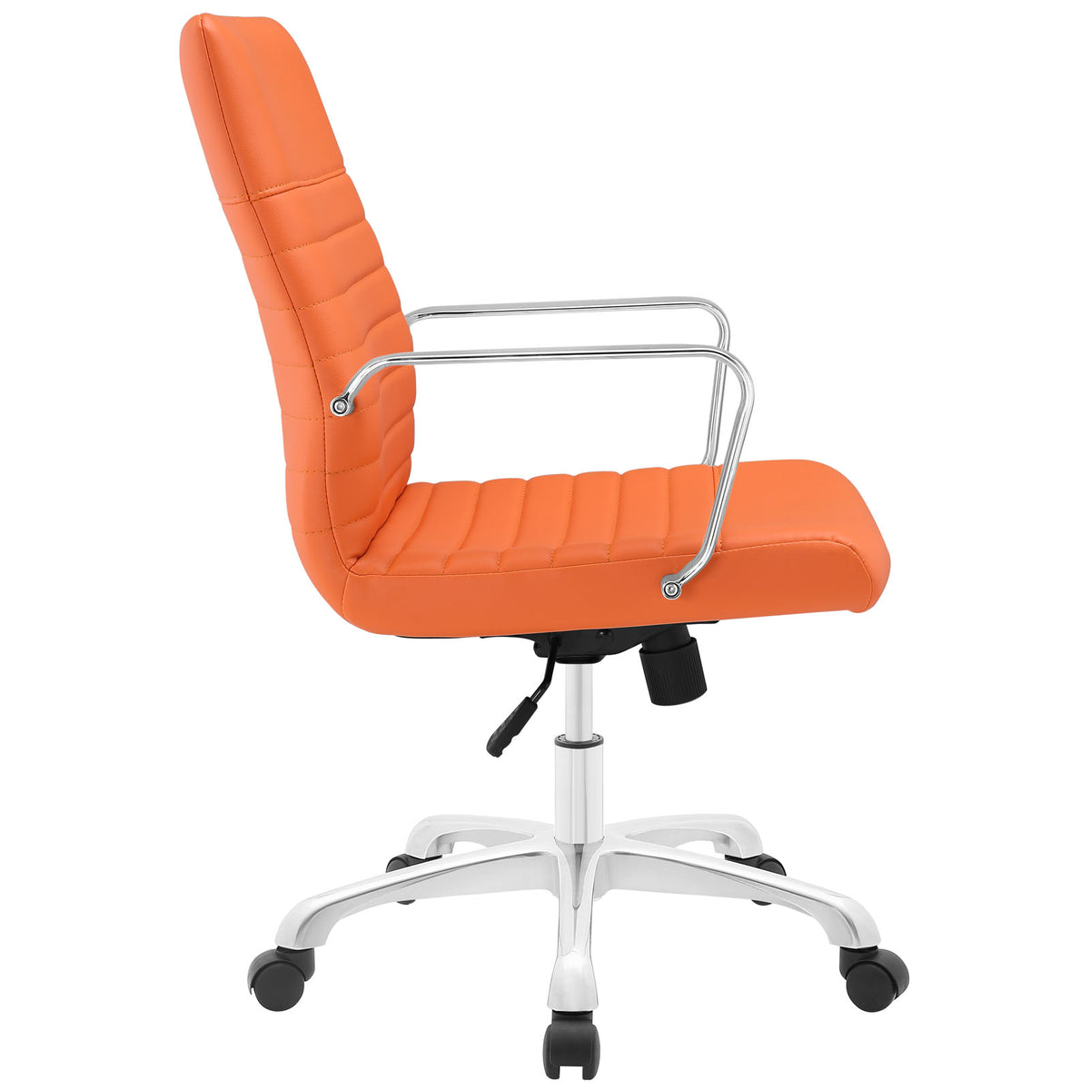 Modway Finesse Mid Back Office Chair In Orange Beyond Stores