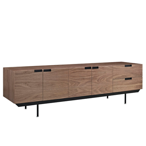 Modway Herald Sideboard in Dark Walnut