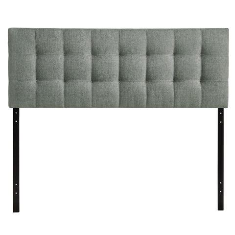 Modway Lily Queen Headboard in Gray