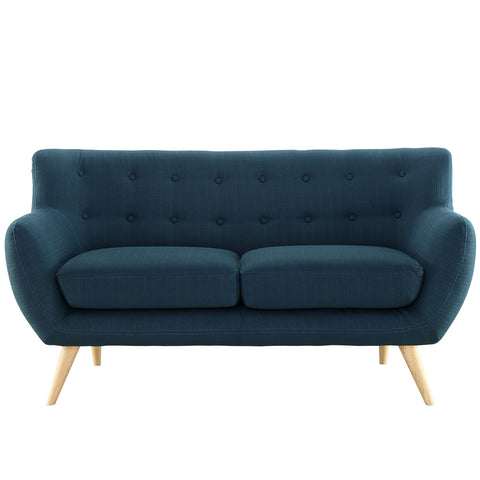 Modway Remark Loveseat In Azure