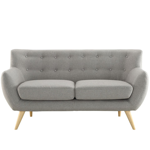 Modway Remark Loveseat In Light Gray