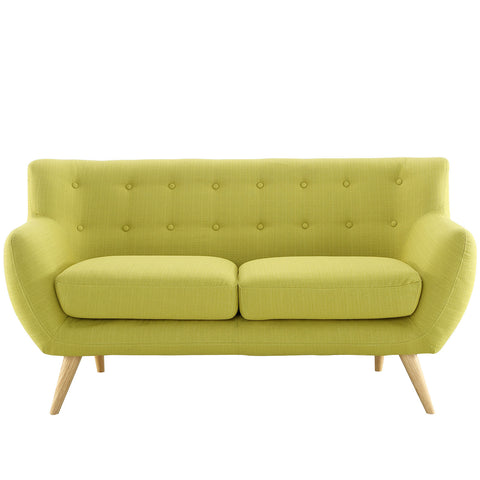 Modway Remark Loveseat In Wheatgrass