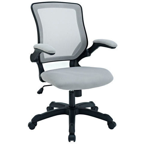 Modway Veer Office Chair in Gray