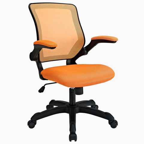 Modway Veer Office Chair in Orange