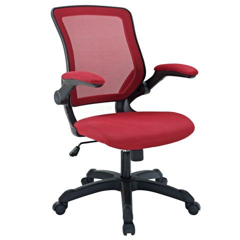 Modway Veer Office Chair in Red