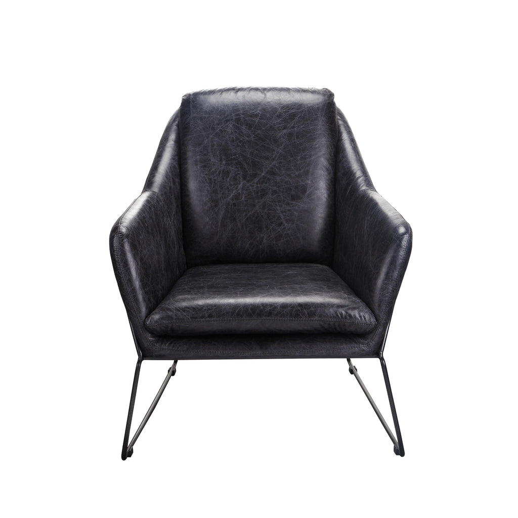 Moe S Home Greer Club Chair In Black Beyond Stores