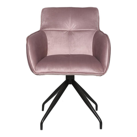 Moe's Cavazzi Swivel Chair Purple