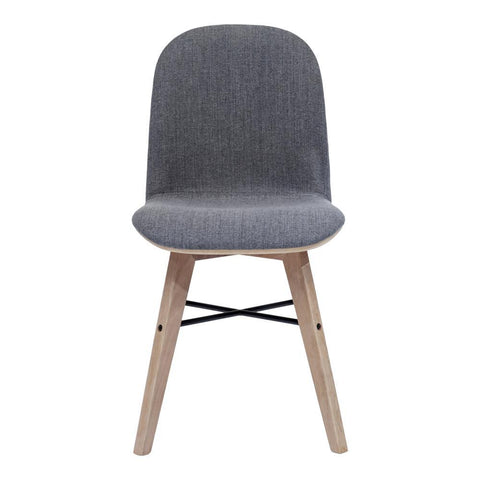 Moe's Napoli Dining Chair Grey