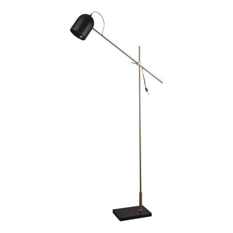 Moes Home Abrahamson Floor Lamp in Black