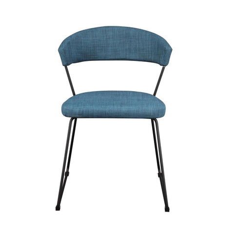 Moes Home Adria Dining Chair Blue - M2