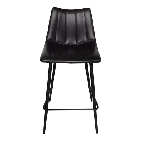 Moes Home Alibi Counter Stool in Black - Set Of Two
