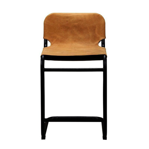 Moes Home Baker Counter Stool in Tan - Set Of 2