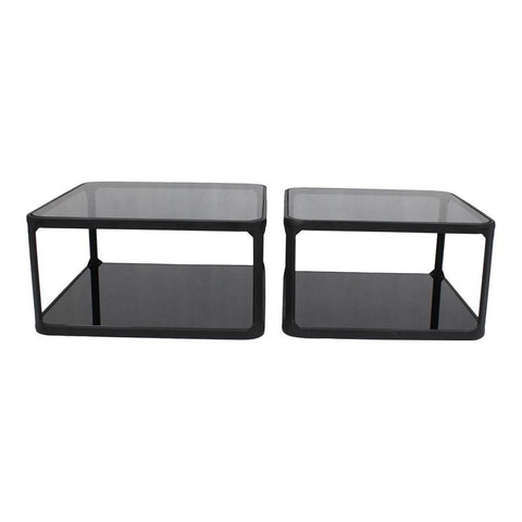 Moes Home Branco Cocktail Table Set Of Two in Black