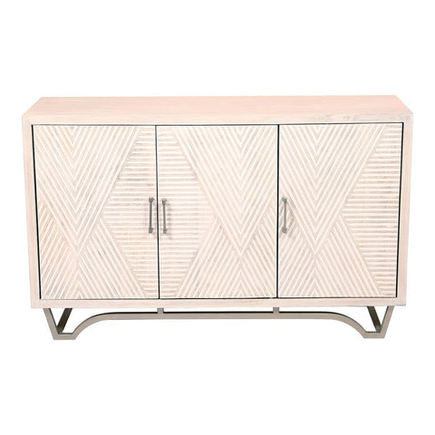 Moes Home Brice Sideboard in White