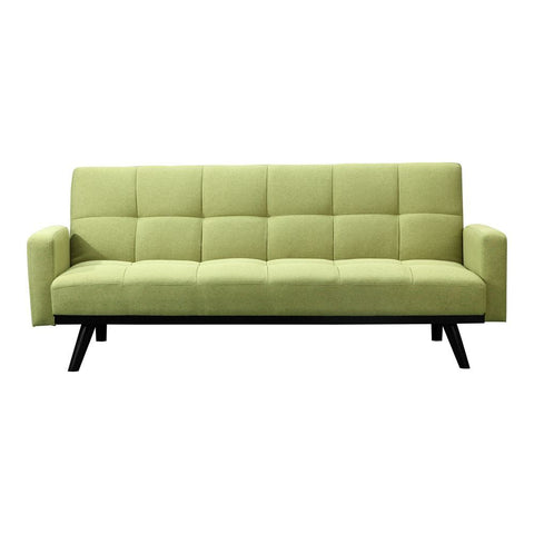 Moes Home Candidate Sofa Bed Green