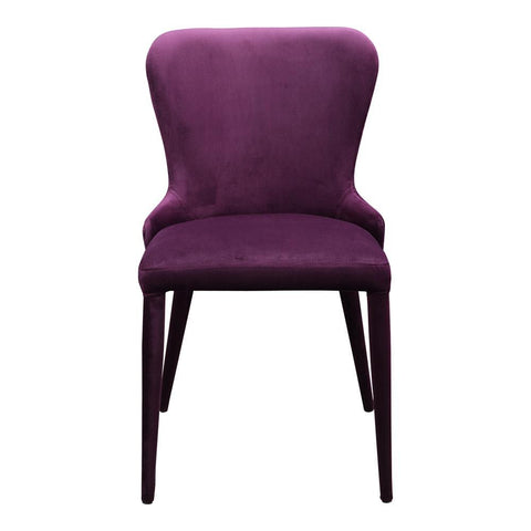 Moes Home Cleveland Dining Chair in Purple