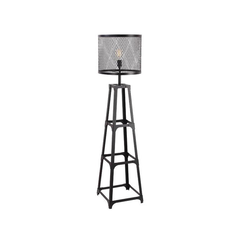 Moes Home Creston Floor Lamp in Black