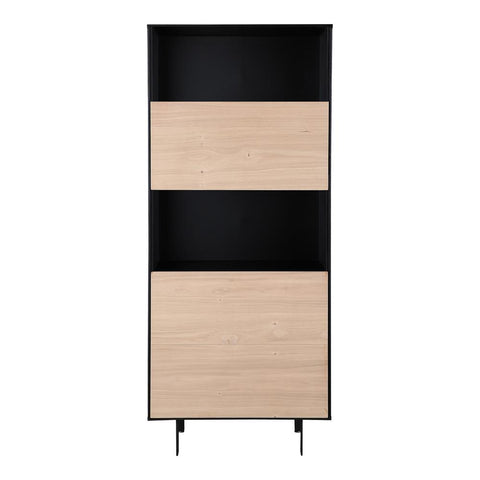 Moes Home Damon Bar Cabinet in Natural