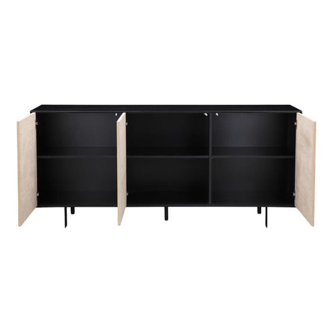 Moes Home Damon Sideboard in Natural
