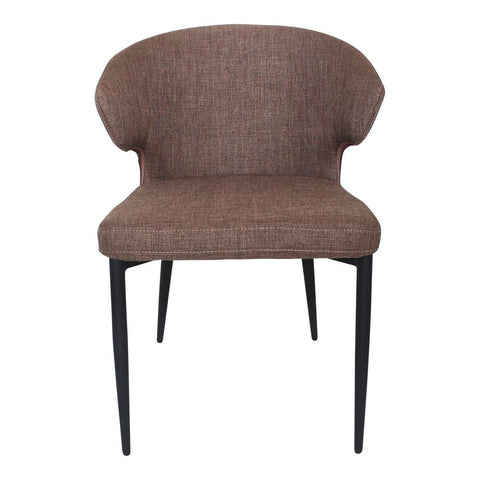 Moes Home Decca Dining Chair in Cappuccino