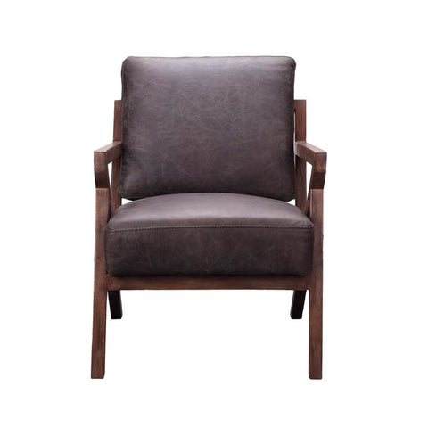 Moes Home Drexel Arm Chair in Antique Ebony