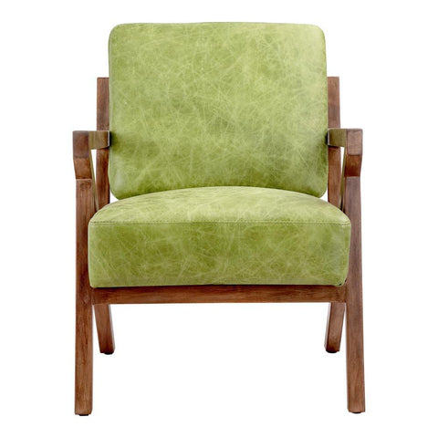 Moes Home Drexel Arm Chair in Green