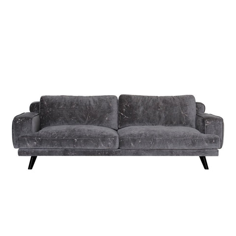 Moes Home Evie Sofa Dark Grey