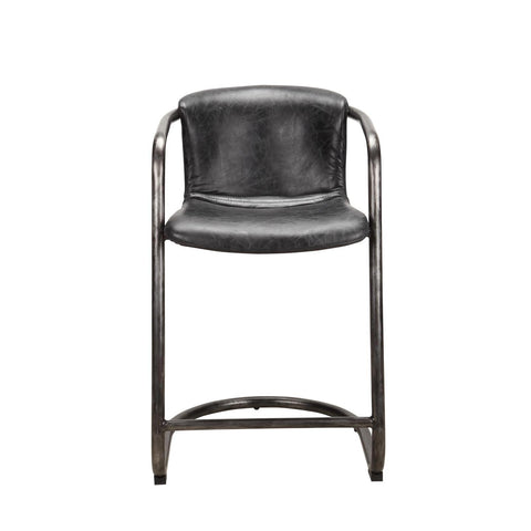 Moes Home Freeman Counter Stool Antique Black - M2