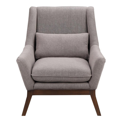 Moes Home Gia Arm Chair in Dark Grey