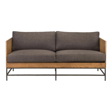 Moes Home Girona Sofa in Dark Grey
