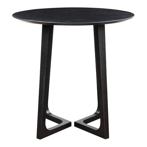 Moes Home Godenza Bar Table Black Ash