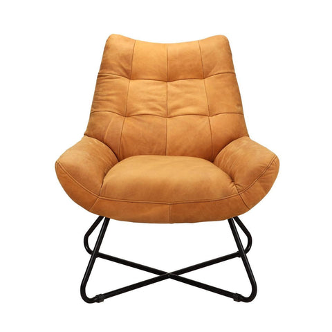 Moes Home Graduate Lounge Chair Tan