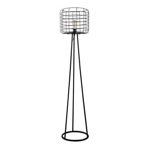 Moes Home Hammersley Floor Lamp in Black