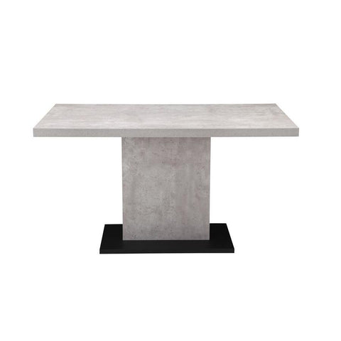Moes Home Hanlon Dining Table in Light Grey