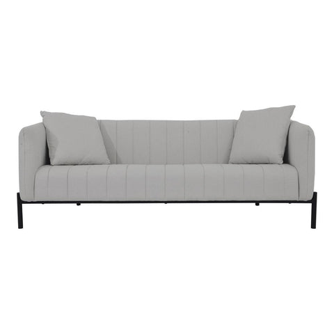 Moes Home Jaxon Sofa in Light Grey