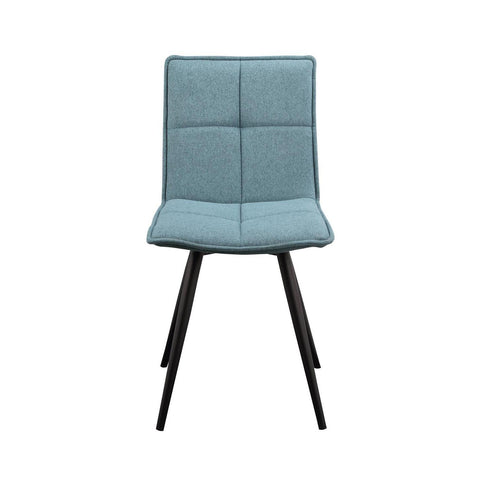 Moes Home Jojo Dining Chair Tiffany Blue - M2