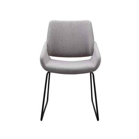 Moes Home Lisboa Dining Chair Light Grey