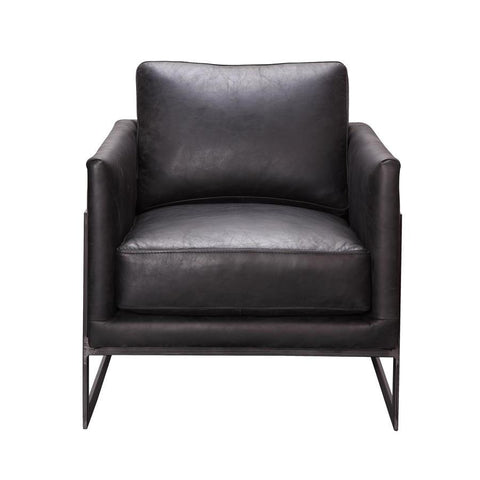Moes Home Luxe Club Chair Black