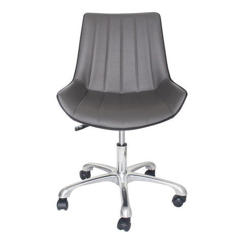 Moes Home Mack Office Chair in Gun Metal