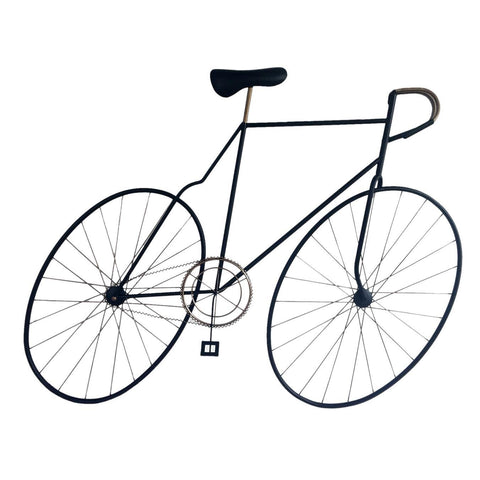 Moes Home Mcmillan Bicycle Wall Art in Black